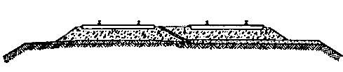 Профиль балластной призмы
