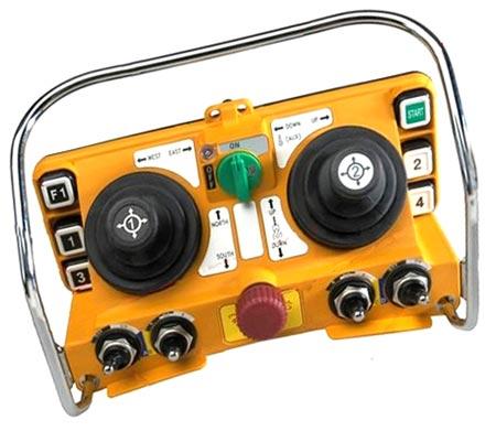 Пульт радиоуправления мостовым